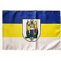 Flaggenfritze/® Flagge Deutschland Stadt Mannheim 30 x 45 cm