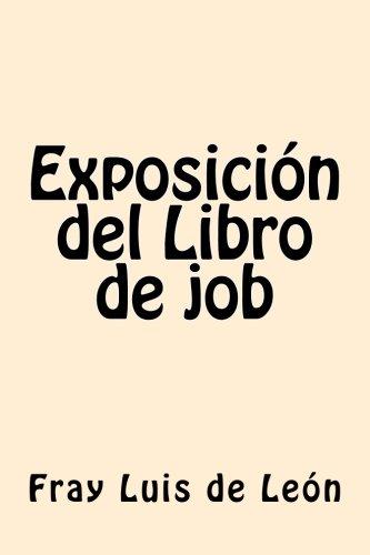 Descargar Libro Exposicion del Libro de job (Spanish Edition) de Fray Luis de Leon