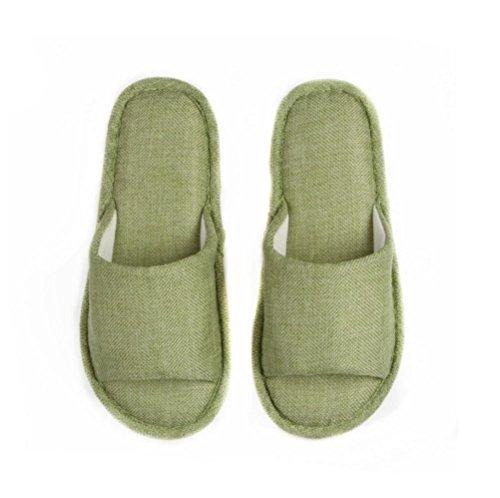 Mhgao Home pantofole donna Leisure morbido interno casa pantofole 2