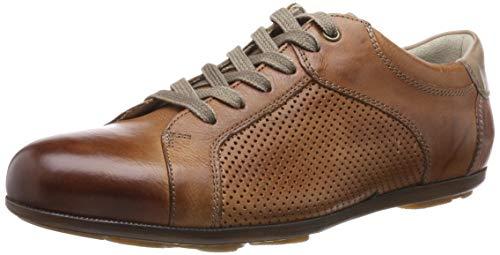 LLOYD Herren BABILA Sneaker, Braun (Cognac/Sand 3), 44 EU Retro-sneaker