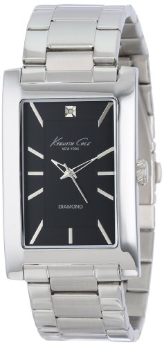 kenneth-cole-ladies-stainless-steel-black-rectangular-dial-diamond-kc9284