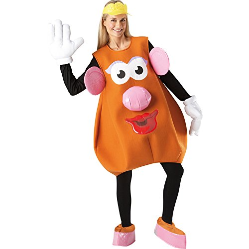 Frau Potato Head Charakter, Erwachsenen-Kostüm–One Size (Erwachsene Potato Head Kostüm)