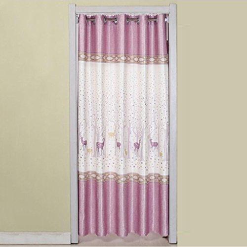 Liuyu · Maison de Vie Porte Rideau Tissu Rideau Cut Off Double-Face Épaississement Ménage Cuisine Chambre Baie Fenêtre (Couleur : Violet, Taille : 180 * 150cm)
