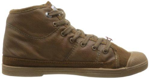 Le Temps des Cerises - Sneaker Basic 03, Donna Marrone (Marron (Mono Leather Cognac))