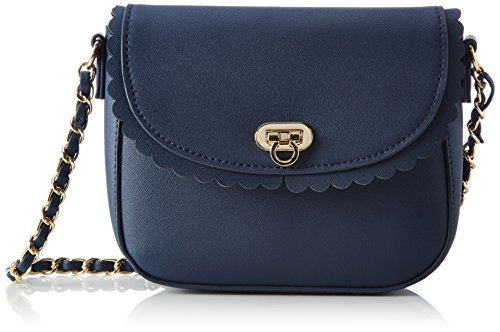 PIECES - Pcsolvej Cross Body, Borse a spalla Donna Blu (Navy Blazer)