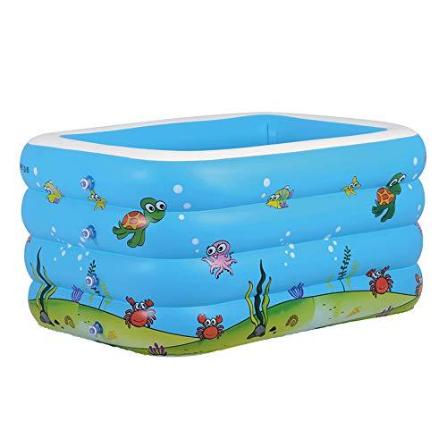 TXDY Aufblasbares Schwimmbecken für Kinder, Schwimmwanne, Kleinkind, Babyschwimmbad Eltern-Kind-Pool Auffüllbecken Familien-Außenpool Innen-Innenbereich