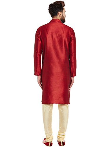 Larwa-Mens-Ceremony-Kurta-Pyjama-Set-with-Button