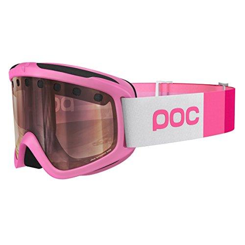 POC Iris Stripes Skibrille, Ethylene Pink, Regular