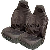 Carseatcover-UK BLKWPFP1000 Car Seat Covers, Heavy Duty, Waterproof, Black