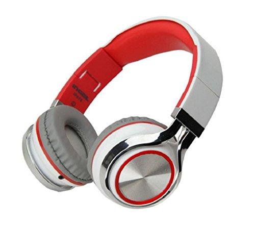 headset gaming Kolylong® Stereo Mic Wired Kopfhörer für Smartphone MP3 / 4 PC Weiß