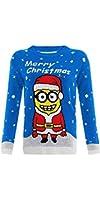Kids Unisex Children Girls Boys Knitted Christmas Xmas Aztec Jumper Sweater Top