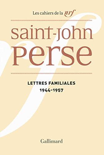 Lettres familiales: (1944-1957)