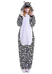 Idea Regalo - ABYED® Animali Pigiama Anime Cosplay Party Halloween Costume Tuta Costumi Sleepwear Attrezzatura Unisex