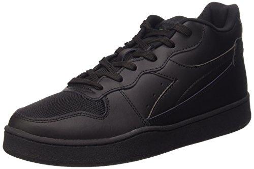 Diadora Magic Color, Sneakers Basses Mixte Adulte Noir
