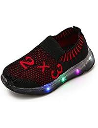 new styles d7983 7035b FRAUIT Scarpe Per Bambini Con Luci Sneakers Bambino Estive Scarpe Con Led  Bimba Scarpe Da Corsa
