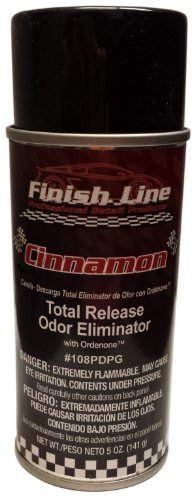 Finish Line Gesamt Release Geruch Eliminator mit ordenone–Zimt Duft für Autos oder Hause von Finish Line - Zimt Finish