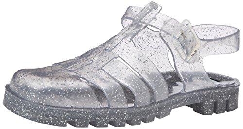 JuJu ShoesMAXI - Sandali donna , Trasparente (Transparent (Multi Glitter)), 38