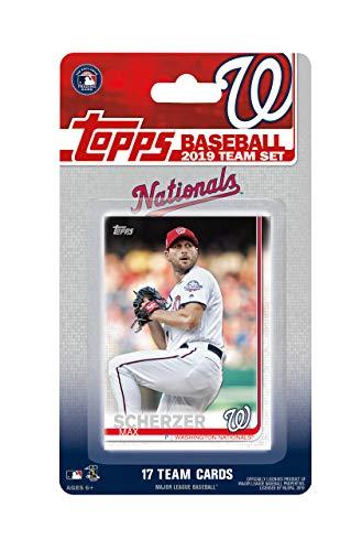Topps Factory Sealed Special Edition 17-Karten-Team-Set mit Max Scherzer und Stephen Strasburg Plus - Baseball-karten Topps