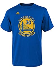Stephen Curry Golden State Warriors NBA Adidas Player Blue T-Shirt Chemise