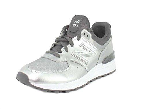 Nuovo Equilibrio Damen Sneaker Argento / Carbone