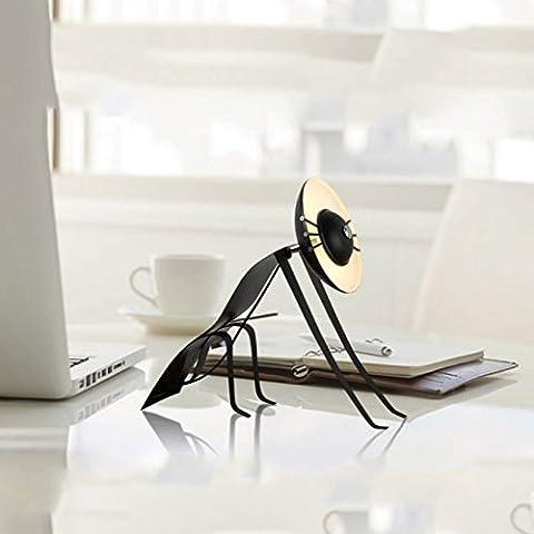 HZF-Lampe de bureau créatif, fer forgé, d