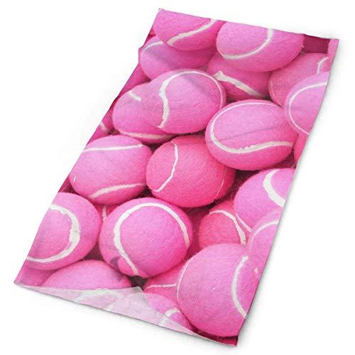 Combination Pink Tennis Headwrap Unisex Multifunction Headwear Polyester Quick Dry Soft Headband Neck Scarf,Premium Headdress Fashion Magic Head Scarf Bandana Mask Neck Gaiter For Men Women -