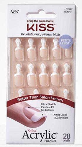 Kiss Salon Acryl FN Kit, Crush Stunde -