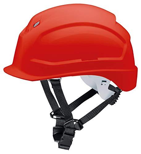 Uvex 9772335 Schutzhelm für die Baustelle - Bauhelm für Erwachsene - Rot