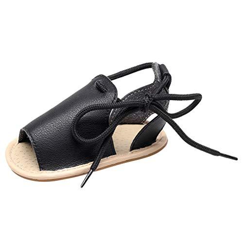 cinnamou Mädchen Strand Leder Gummi Sohle Sommer Sandalen Erste Wanderer Schuhe