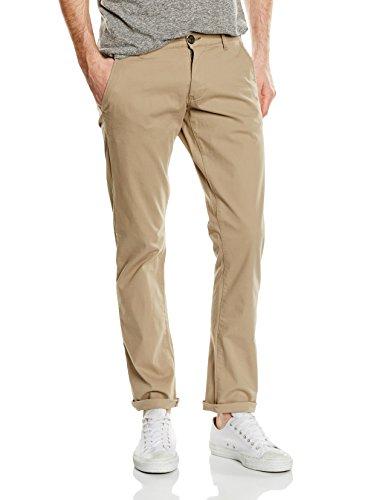 Selected Shhthreeparis St Pants Noos, Pantalon Homme Grau (Greige)