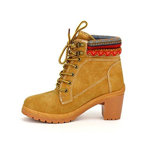 6f7790ccad1ad8 Timbers Femme Cendriyon Bottine Camel Chaussures Caramel PnxqvwAOHg