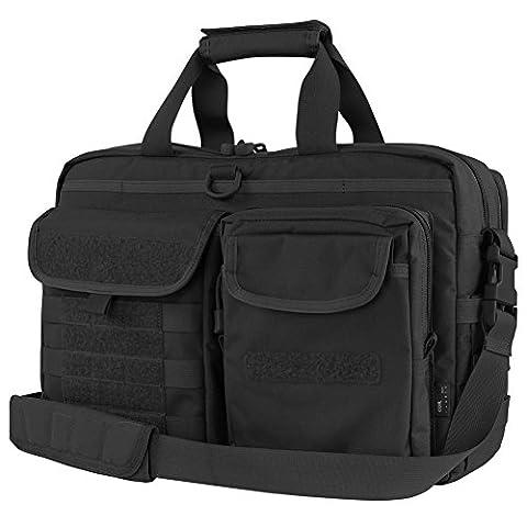 Condor Metropolis Briefcase Black