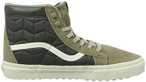 Vans U SK8-HI VKYA7ZR, Sneaker unisex adulto Verde