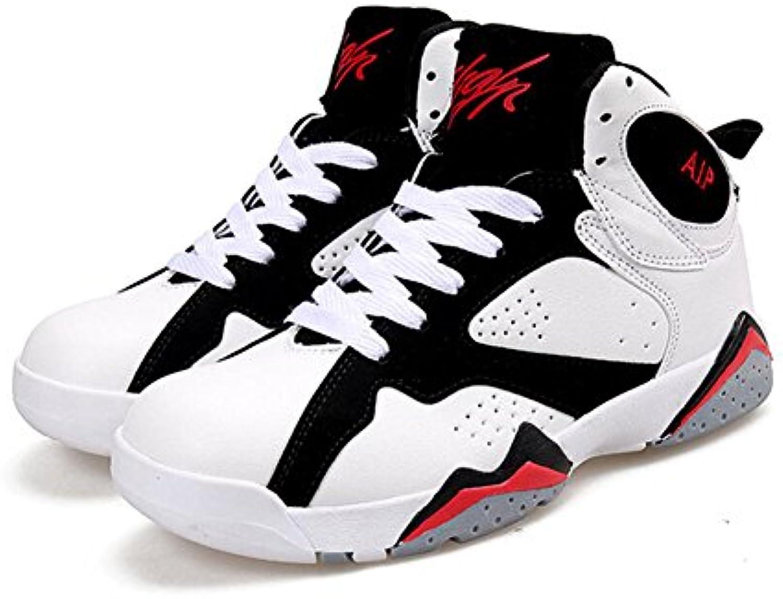 Zapatos de Hombre PU Spring Fall Comfort Zapatos Atléticos Amantes Zapatos de Baloncesto con Cordones Para el  -
