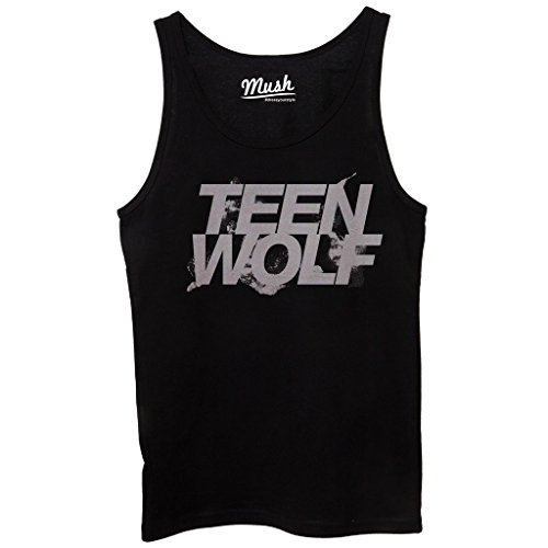 Canotta TEEN WOLF - FILM by Mush Dress Your Style - Donna-S-Nera