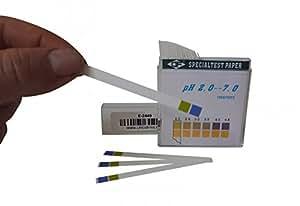 'DF' Papier indicateur pH 2-7 - 100 bandelettes