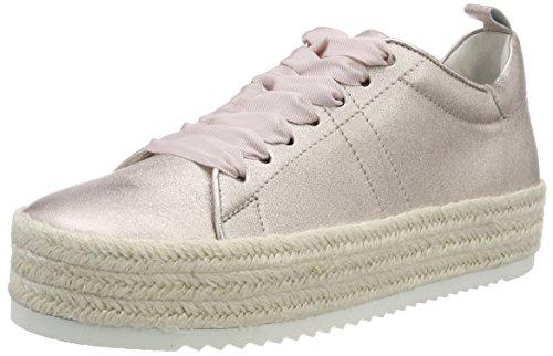 Kennel und Schmenger Damen Hill Low Top Sneaker, Beige (Nudo Bastsohle Weiß), 39 EU (Hills-schuhe Für Frauen)