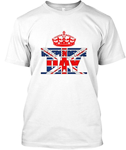 Stylisches T-Shirt Damen / Herren / Unisex von Teespring | Originelles Outfit für jeden Anlass und lustige Geschenksidee - UK Independence day T-shirt (Day Independence T-shirts)