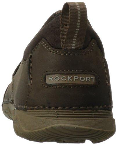 Rockport Rocsports Lt2 Moc Slip Cuir Chaussure de Marche Chocolat