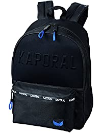 776a684f4f Editions Oberthur Kaporal Boy College Cartable, 43 cm, Noir