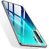 TORRAS Crystal Clear Kompatibel mit Huawei P30 Pro Hülle, Transparent Dünn Slim [Anti-Gelb] P30 Pro Hülle Weiche Silikon TPU Handyhülle Case Scratchproof Durchsichtige Schutzhülle Cover - Klar