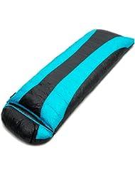 XG Acampando pato al aire libre solo 800g plegable caliente fácil de llevar saco de dormir de 210 cm