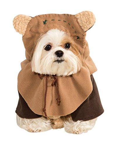 Star Wars Ewok Hunde-Kostüm (Wars Star Haustiere)