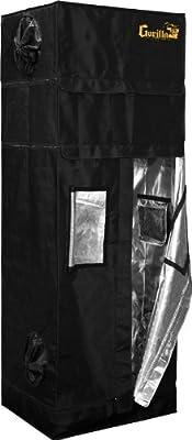"""Gorilla Grow Tent 60cm x 75cm x 180 (2'x2.5'x5'11"""")"""