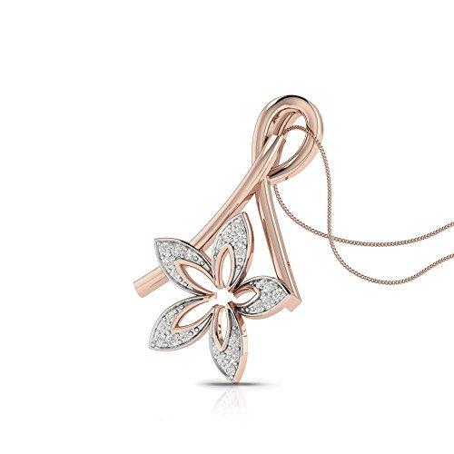Charu Jewels 18k (750) Rose Gold and Diamond The Solar Spirit Jewellery Set
