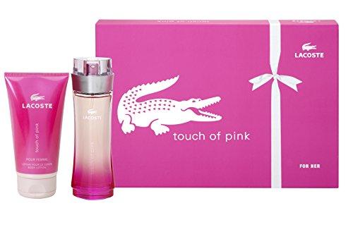 Lacoste, Touch of Pink, Set da regalo per donna, incl. Eau de Toilette (90 ml) e Crema corpo (150 ml)