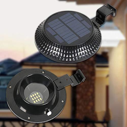 QTRT Solar Licht Im Freien Wasserdichte Beleuchtung (Lichtsteuerung + Induktion des menschlichen Körpers) Traufe Wandleuchte Hausgarten Straßenlaterne, Dekorative Beleuchtung Projektoren Taschenlampen