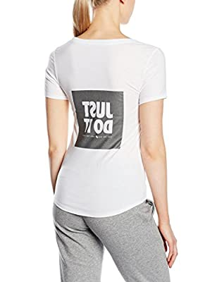 NIKE Damen T-Shirt Reflective Just Do It von NIKE - Outdoor Shop
