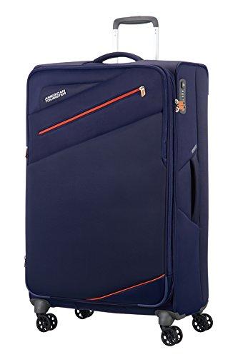 american-tourister-pikes-peak-4-roues-80-30-extensible-valise-80-cm-110-l-carbon-bleu