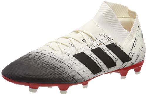 adidas Herren Nemeziz 18.3 FG Fußballschuhe, Weiß (Off White/Core Black/Active Red), 46 EU